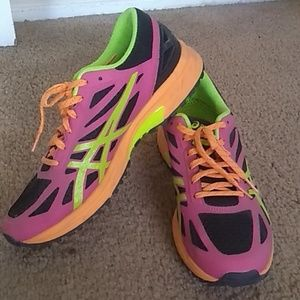 Funky colored Asics